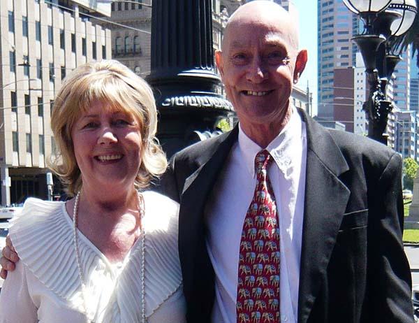 Calvin Bailey and Helen Jarroe